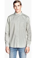 H&M Cotton Shirt with A Print - Lyst