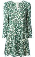 Tory Burch Alice Vine Print Dress - Lyst