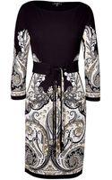 Etro Jersey Paisley Print Dress - Lyst