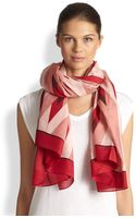 Marc By Marc Jacobs Diamond Flame Print Scarf - Lyst