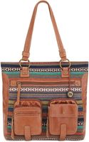 The Sak Iris Leather Utility Tote - Lyst