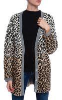 Elizabeth And James Boy Leopard Cardigan - Lyst