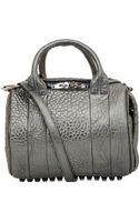 Alexander Wang Metallic Grey Rockie Bag - Lyst