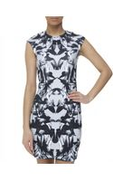 McQ by Alexander McQueen Hummingbird Mini Dress - Lyst
