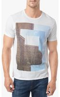 7 For All Mankind Triple Tee - Lyst