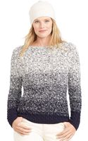 Lauren by Ralph Lauren Ombr Cable-knit Sweater - Lyst