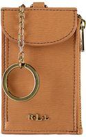 Ralph Lauren Tate Leather Wristlet - Lyst