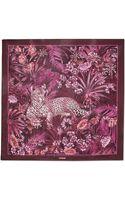 Ferragamo Lounging Leopard Print Shawl - Lyst