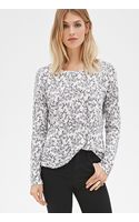 Love 21 Floral Print Pocket Top - Lyst