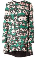 Marni Floral Print Dress - Lyst