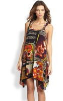 Jean Paul Gaultier Foto Print Tank Dress - Lyst