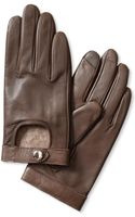 Banana Republic Moto Leather Glove  Taupe - Lyst