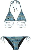 Matthew Williamson Printed Triangle Bikini - Lyst
