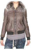 Meatpacking D. Murmasky Bomber Leather Jacket - Lyst