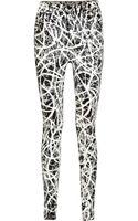 Proenza Schouler High-rise Printed Skinny Jeans - Lyst