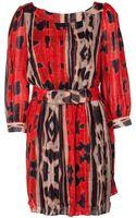 Diane Von Furstenberg Pialla Dress - Lyst
