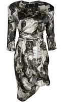 Preen By Thorton Bregazzi Print Shwoosh Dress - Lyst