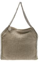 Stella McCartney Knitted Falabella Bag - Lyst