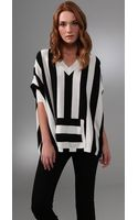 Alice + Olivia Kayden Striped Sweater - Lyst
