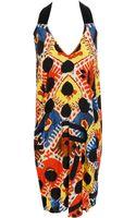 Zero + Maria Cornejo Printed Silk-blend Dress - Lyst