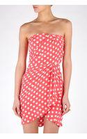 Paul & Joe Sister Minipois Strapless Polka Dot Dress - Lyst