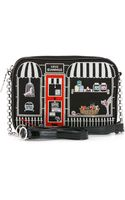 Lulu Guinness Black Small Pet Shop Emily - Lyst