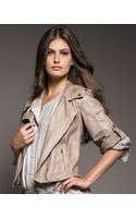 Donna Karan New York Vintage Leather Jacket - Lyst