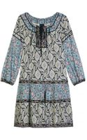 Anna Sui Printed Tunic Dress - Lyst