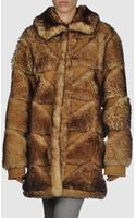 Maison Martin Margiela Fur Outwear - Lyst