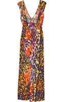 Diane Von Furstenberg Zahiab Printed Maxi Dress - Lyst