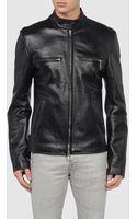 Balenciaga Leather Outerwear - Lyst