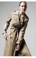 Rag & Bone Trench In Khaki - Lyst