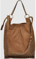 Via Repubblica Large Leather Bag - Lyst