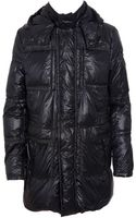 Moncler Padded Coat with Hood - Lyst