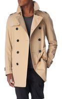 Burberry Britton Double–breasted Trench Coat - Lyst