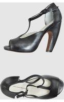 Nicole Brundage Platform Sandals - Lyst