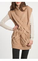 3.1 Phillip Lim 3d Cable Tunic in Camel - Lyst