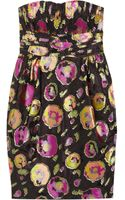 Matthew Williamson Floral Jacquard Dress - Lyst