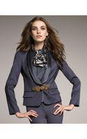 Roberto Cavalli Baroque-closure Tuxedo Jacket - Lyst