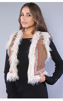Free People The Reversible Fur Vest - Lyst