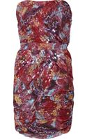 Diane Von Furstenberg Garvin Sequined Silk-chiffon Mini Dress - Lyst