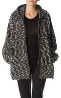 Isabel Marant Bouclé Hooded Jacket - Lyst