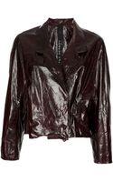 Petar Petrov Leather Jacket - Lyst