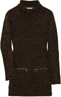 Burberry Brit Cotton-blend Turtleneck Sweater - Lyst