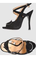 Pollini High Heeled Sandals - Lyst
