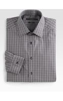 Gucci Striped Dress Shirt - Lyst