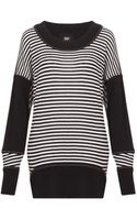 D&G Oversized Striped Sweater - Lyst