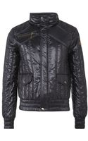 Just Cavalli Quilted Jacket - Lyst