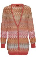 Missoni Nada Wool-blend Crochet Knit Cardigan - Lyst