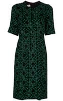 Marni Mint Print Dress - Lyst